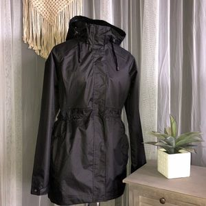 Black Rain Jacket - Worn Once!